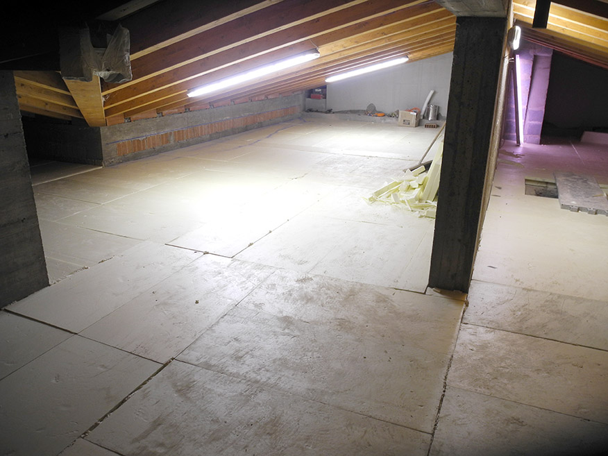 Isolamento termico sottotetti edilposa - Sfruttare sottotetto basso ...